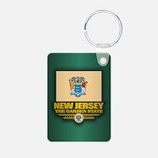 New Jersey (v15) Keychains