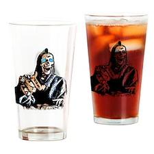 Robot Skeleton Drinking Glass