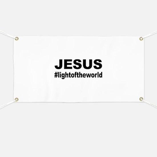 Jesus #lightoftheworld Banner