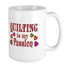 Quilting Passion Ceramic Mugs