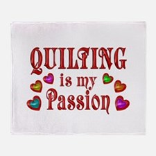 Quilting Passion Throw Blanket