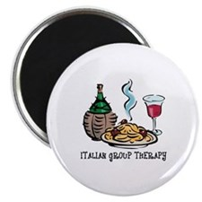 """Italian Group Therapy 2.25"""" Magnet (10 pack)"""