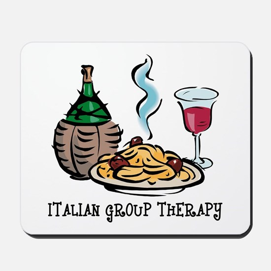 Italian Group Therapy Mousepad