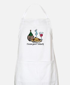 Italian Group Therapy BBQ Apron