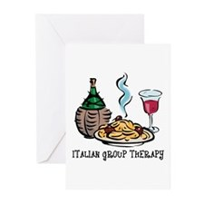 Italian Group Therapy Greeting Cards (Pk of 10