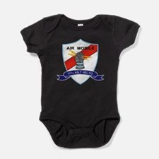 117th Assault Helicopter Co.png Baby Bodysuit