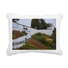 Fort Mackinac Rectangular Canvas Pillow