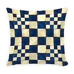 Cracked Tiles - Blue Master Pillow