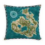 Pirate Adventure Map Master Pillow