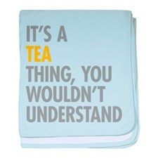 Its A Tea Thing baby blanket