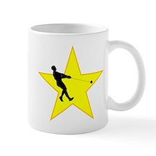 Hammer Throw Silhouette Star Mugs