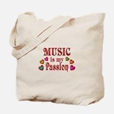 Music Passion Tote Bag