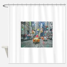 Times Sq. No. 3 Shower Curtain