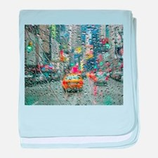 Times Sq. No. 3 baby blanket