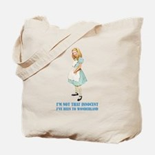 ALICE - NOT THAT INNOCENT Tote Bag