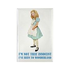 ALICE - NOT THAT INNOCENT Rectangle Magnet