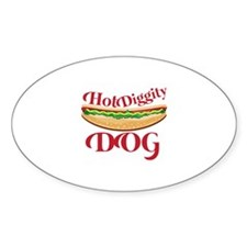 Hot Diggity Dog Decal
