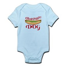 Hot Diggity Dog Body Suit