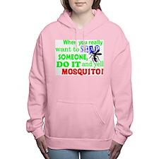 MOSQUITO!! Women's Hooded Sweatshirt
