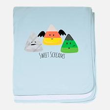 Sweet Screams baby blanket
