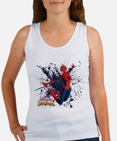 Spider-Girl Web Women's Tank Top