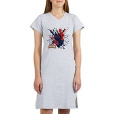 Spider-Girl Web Women's Nightshirt