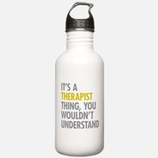 Its A Therapist Thing Water Bottle