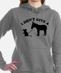 I don't give a rat's *ss Women's Hooded Sweatshirt