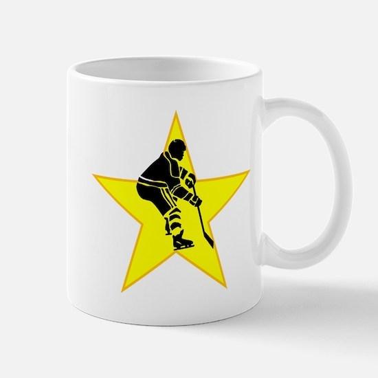 Hockey Player Star Mugs