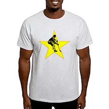 Hockey Player Star T-Shirt
