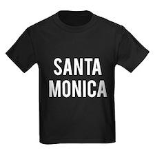 Santa Monica California T Shir T-Shirt