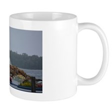 Unique Red and white lighthouse Mug