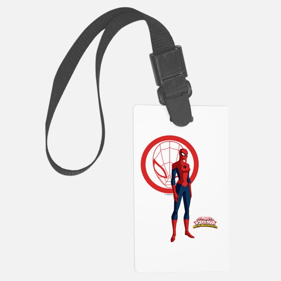 Spider-Girl Standing Luggage Tag