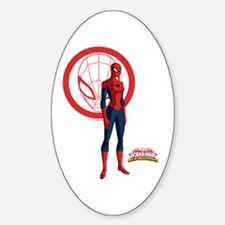 Spider-Girl Standing Decal