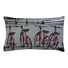 Funny Bike michigan Pillow Case