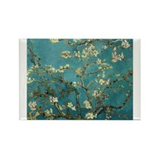 Cute Blooming tree Rectangle Magnet