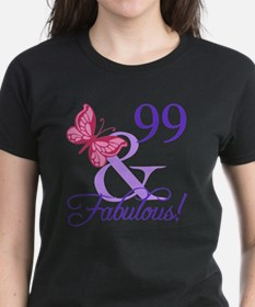 Fabulous 99th Birthday Tee