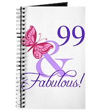 Fabulous 99th Birthday Journal