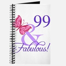 Fabulous 99th Birthday Journal