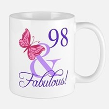 Fabulous 98th Birthday Mug