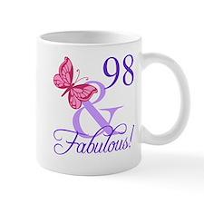 Fabulous 98th Birthday Mug