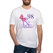 Fabulous 98th Birthday Shirt