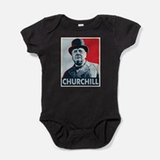 Winston Churchill Baby Bodysuit