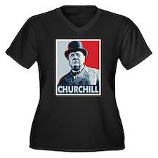 Winston Churchill Plus Size T-Shirt