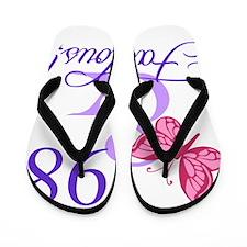 Fabulous 98th Birthday Flip Flops