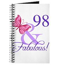 Fabulous 98th Birthday Journal