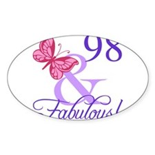 Fabulous 98th Birthday Decal