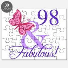 Fabulous 98th Birthday Puzzle