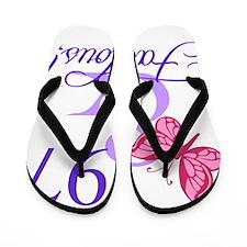 Fabulous 97th Birthday Flip Flops