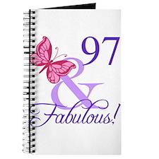 Fabulous 97th Birthday Journal